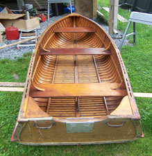 1952 Thompson TVT 12' row boat