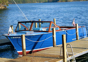 1964, 23' Cruisers Inc. Navigator model 2320