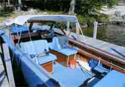 1964, 23' Cruisers Inc. Navigator model 2320.