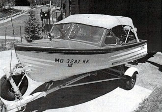14 foot Thompson Sea Skiff